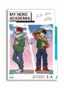 【グッズ-クリアファイル】僕のヒーローアカデミア 休日 3ポケットクリアファイル 緑谷&轟【アニメイト限定】の画像