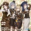 【キャラクターソング】アプリゲーム CUE! Team Single 05「Reach For The World!」/AiRBLUE Moonの画像