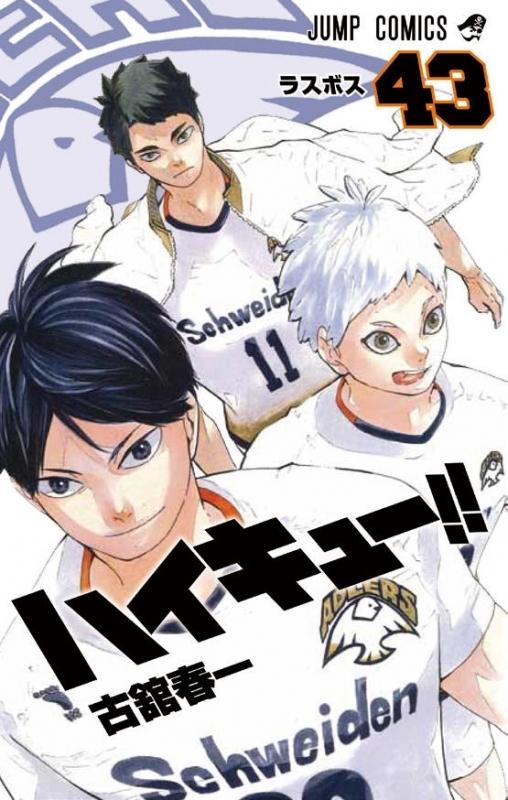 【ポイント還元版(12%)】【コミック】ハイキュー!! 1~43巻セット