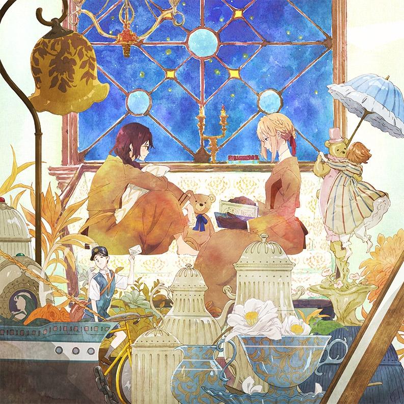 【主題歌】OVA ヴァイオレット・エヴァーガーデン 外伝 -永遠と自動手記人形- ED「エイミー」/茅原実里