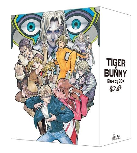 【Blu-ray】TV TIGER & BUNNY Blu-ray BOX 特装限定版