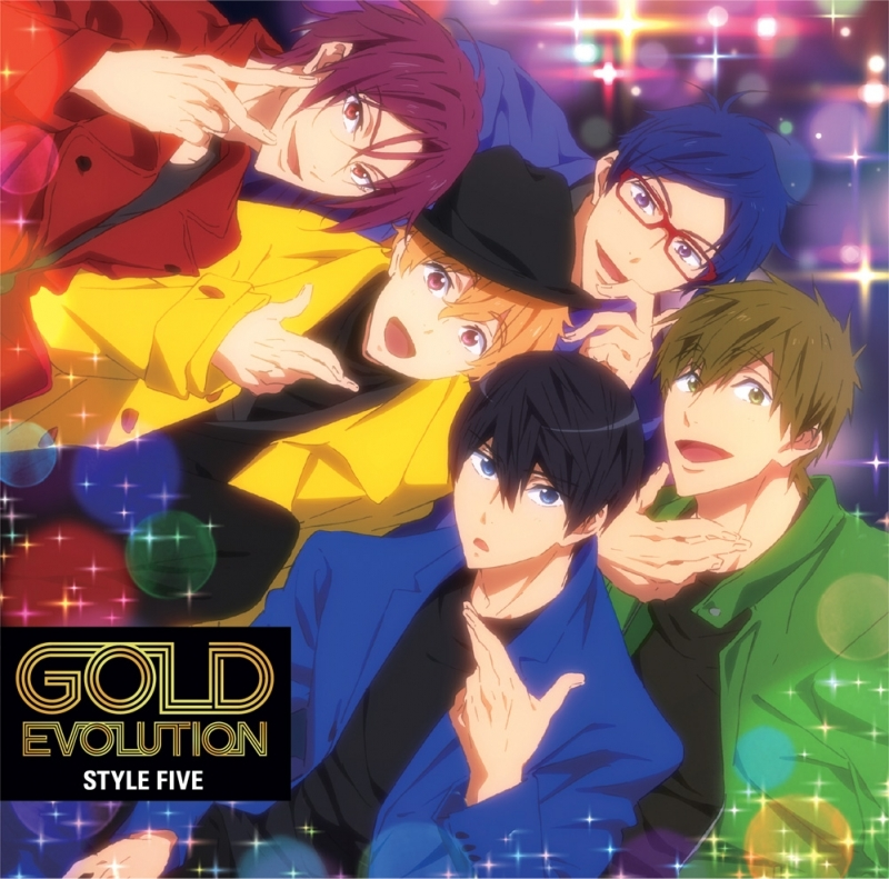 【主題歌】TV Free!-Dive to the Future- ED「GOLD EVOLUTION」/STYLE FIVE