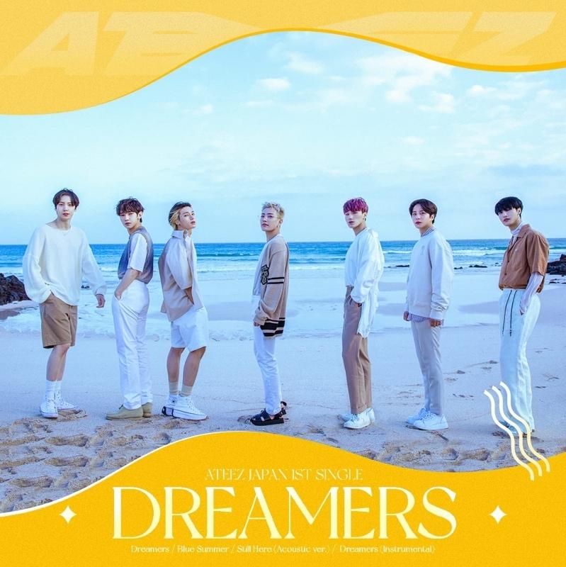 【主題歌】TV デジモンアドベンチャー: ED「Dreamers」/ATEEZ Japan TYPE-A