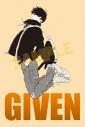 【その他(書籍)】「ギヴン」スペシャルカードセット5枚セット<モノクロ>の画像