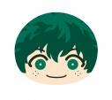 【グッズ-クッション】僕のヒーローアカデミア ビッグおまんじゅうクッション (1)緑谷出久の画像