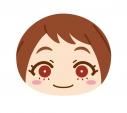 【グッズ-クッション】僕のヒーローアカデミア ビッグおまんじゅうクッション (3)麗日お茶子の画像