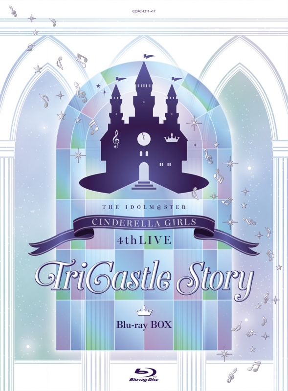 THE IDOLM@STER CINDERELLA GIRLS 4thLIVE TriCastle Story Blu-ray BOX 初回限定生産