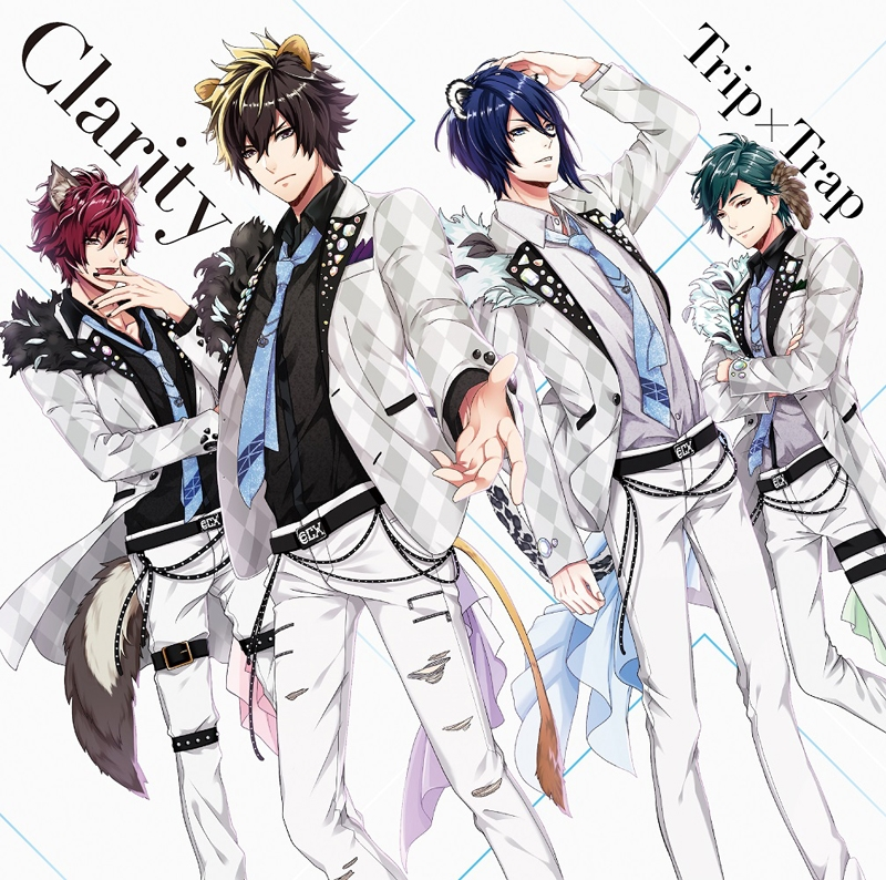 【キャラクターソング】ゲーム アニドルカラーズ Clarity 1stシングル「Trip×Trap」