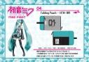 【グッズ-ポーチ】初音ミク Folding Pouch HTM-109 【アークネスジャパン】の画像