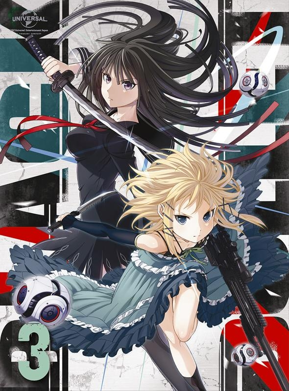【Blu-ray】TV ブラック・ブレット 第3巻 初回限定版