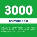 【アニメイトコインカード】アニメイトコイン(3000円)の画像