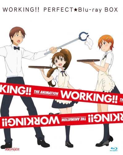 【Blu-ray】TV WORKING!! PERFECT☆Blu-ray BOX 完全生産限定
