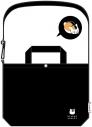 【グッズ-バック】夏目友人帳 2WAYキャンバスショルダートート ブラック アニメイト限定 【再販】の画像