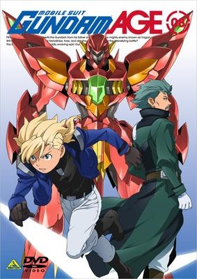 【DVD】TV 機動戦士ガンダムAGE 08
