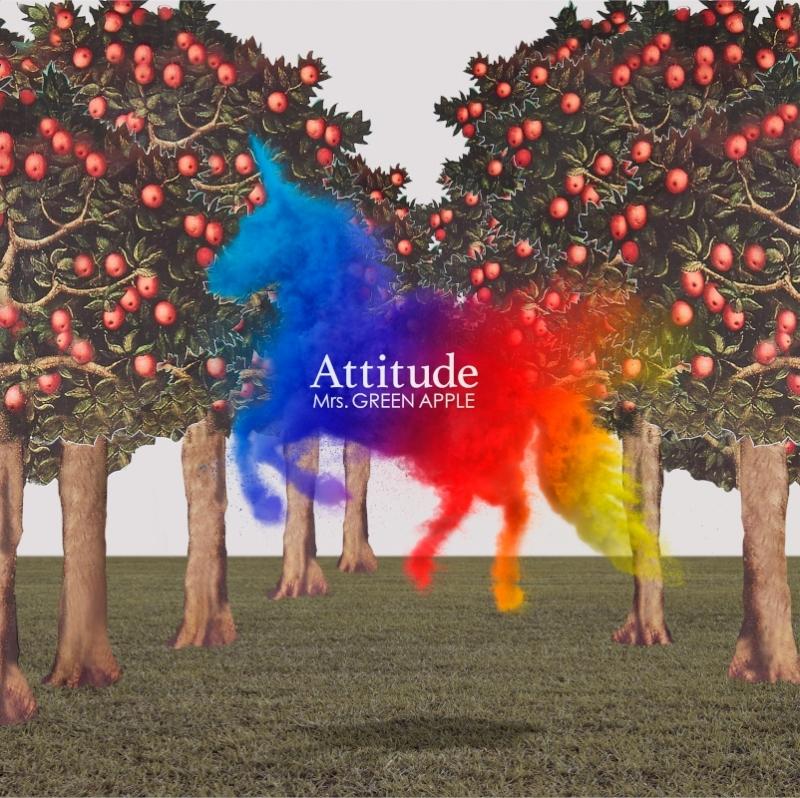 【アルバム】TV 炎炎ノ消防隊 OP「インフェルノ」収録アルバム Attitude/Mrs.GREEN APPLE 通常盤