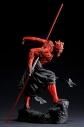 【フィギュア】ARTFX スター・ウォーズ/ファントム・メナス ダース・モール ライトアップ版 1/7 簡易組立キット【再販】の画像
