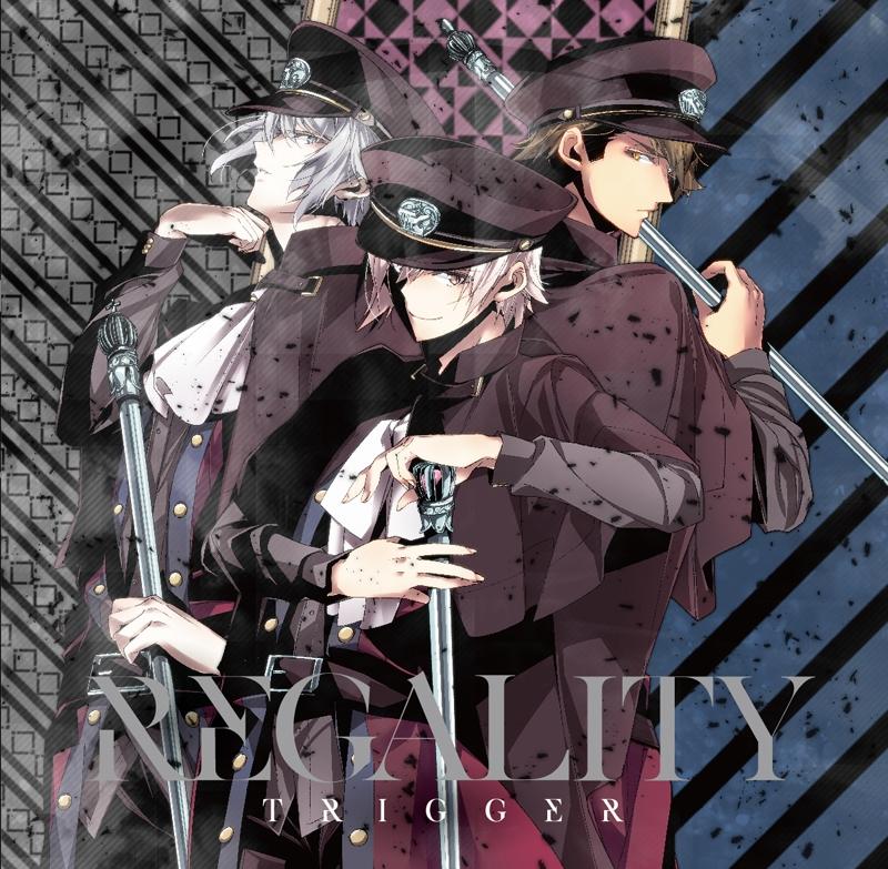 【アルバム】ゲーム アイドリッシュセブン TRIGGER 1stフルアルバム「REGALITY」 通常盤