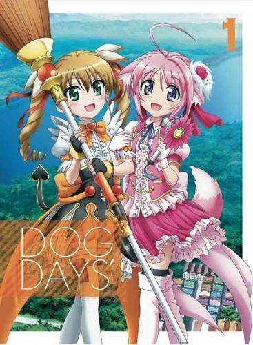 【Blu-ray】TV DOG DAYS´ 1 完全生産限定版