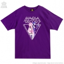 【グッズ-Tシャツ】マギアレコード 魔法少女まどか☆マギカ外伝×LISTEN FLAVOR MAGIA RECORD BIG Tシャツ 02.PURPLEの画像