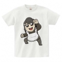 【グッズ-Tシャツ】逢田梨香子のまるごとりかこ 大川ぶくぶ先生イラストTシャツ L【価格改定版】の画像