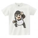 【グッズ-Tシャツ】逢田梨香子のまるごとりかこ 大川ぶくぶ先生イラストTシャツ XLの画像