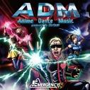 【アルバム】EMERGENCY(小野坂昌也・小林ゆう・後藤友香里)/ADM -Anime Dance Music produced by tkrism-の画像