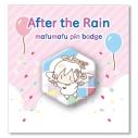 【グッズ-ピンバッチ】After the Rain 2019 真夏のそらまふ大発生!!@富士急ハイランド まふまふ天使バッジの画像