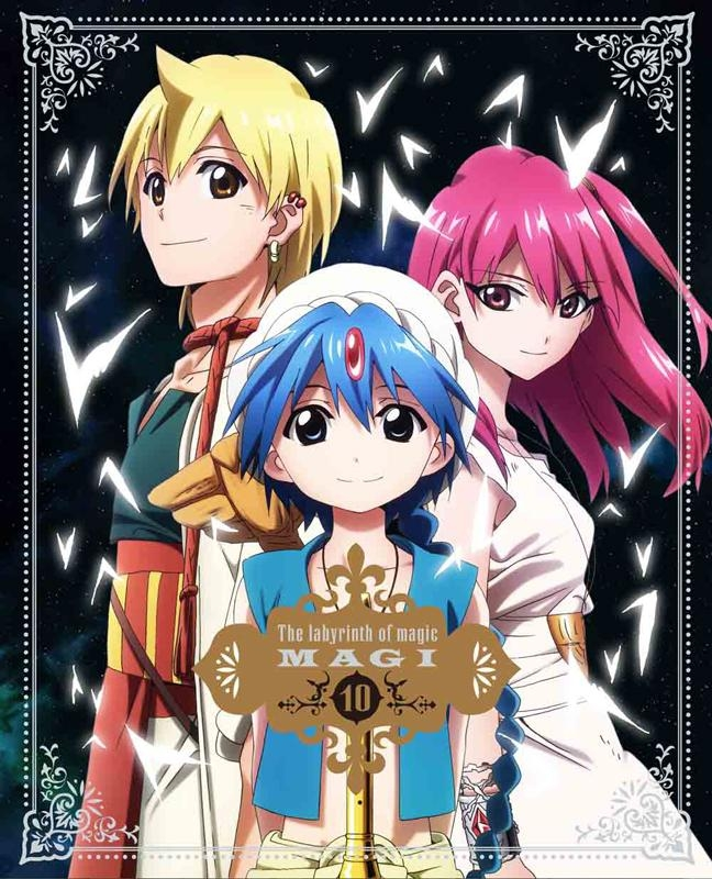 【Blu-ray】TV [マギ] 10 完全生産限定版