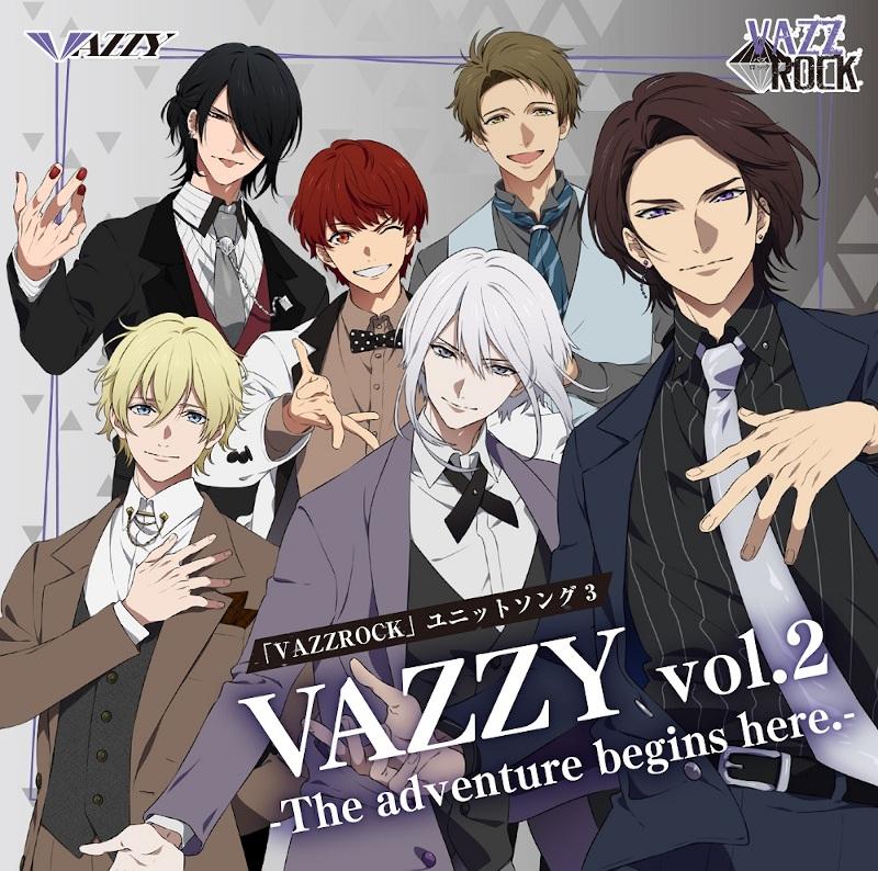 【キャラクターソング】VAZZROCK ユニットソング3 VAZZY vol.2 -The adventure begins here.-