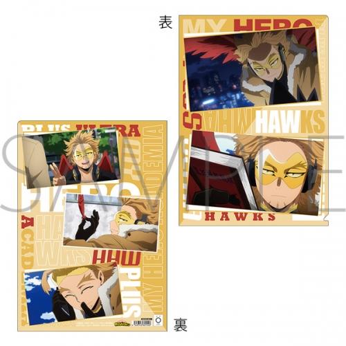 グッズ クリアファイル 僕のヒーローアカデミア 場面写クリアファイル 5期 ホークス アニメイト