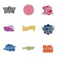 【グッズ-ピンバッチ】喜多村英梨 ピンバッジコレクション(全9種)の画像
