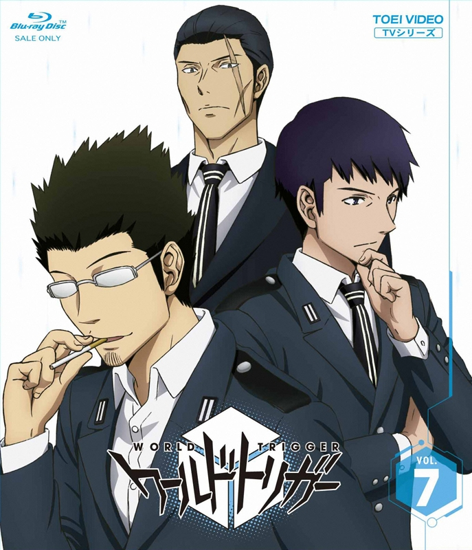 【Blu-ray】TV ワールドトリガー VOL.7