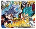 【カレンダー】スーパードラゴンボールヒーローズカレンダー 卓上 2020年カレンダーの画像