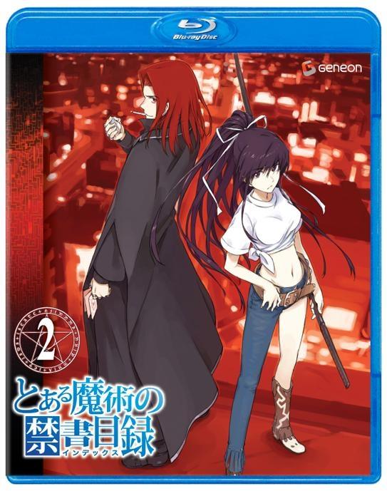 【Blu-ray】TV とある魔術の禁書目録 2 通常版