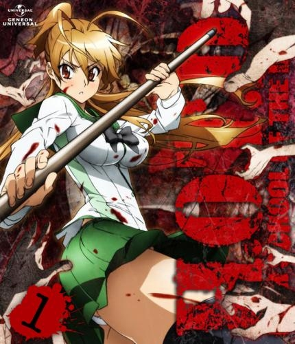 【Blu-ray】TV 学園黙示録 HIGHSCHOOL OF THE DEAD 1
