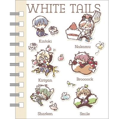 【グッズ-メモ帳】White Tails【ワイテルズ】 メモ帳 ゆるわいて