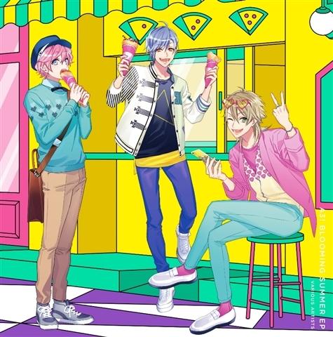 【アルバム】ゲーム A3! ミニアルバム A3! Blooming SUMMER EP