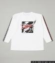 【グッズ-Tシャツ】R4G×ペルソナ5 Divided Frame Tee主人公 WHT XLサイズの画像