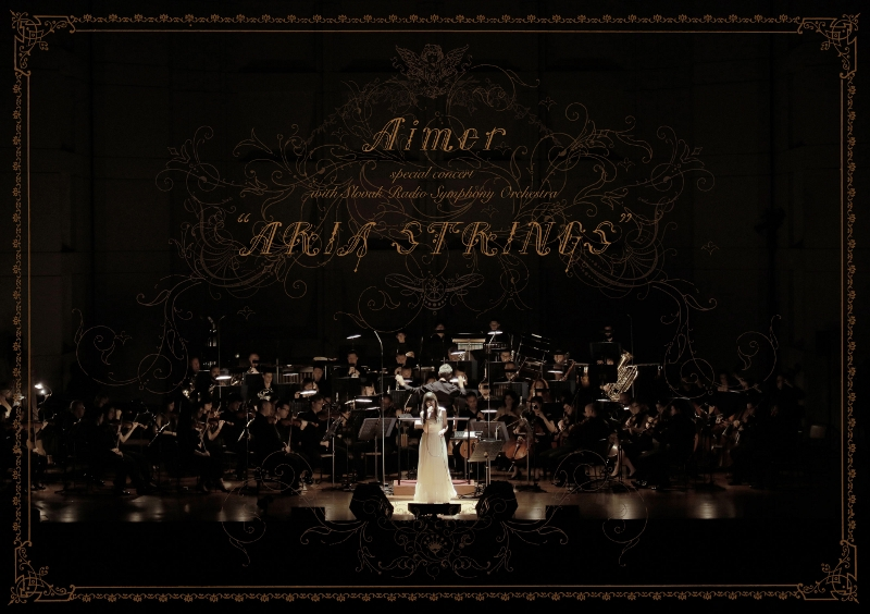 【Blu-ray】Aimer/Aimer special concert with スロヴァキア国立放送交響楽団 ARIA STRINGS 初回生産限定版