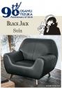 【グッズ-椅子】ブラックジャック 手塚治虫生誕90周年 ブラックジャックソファーの画像