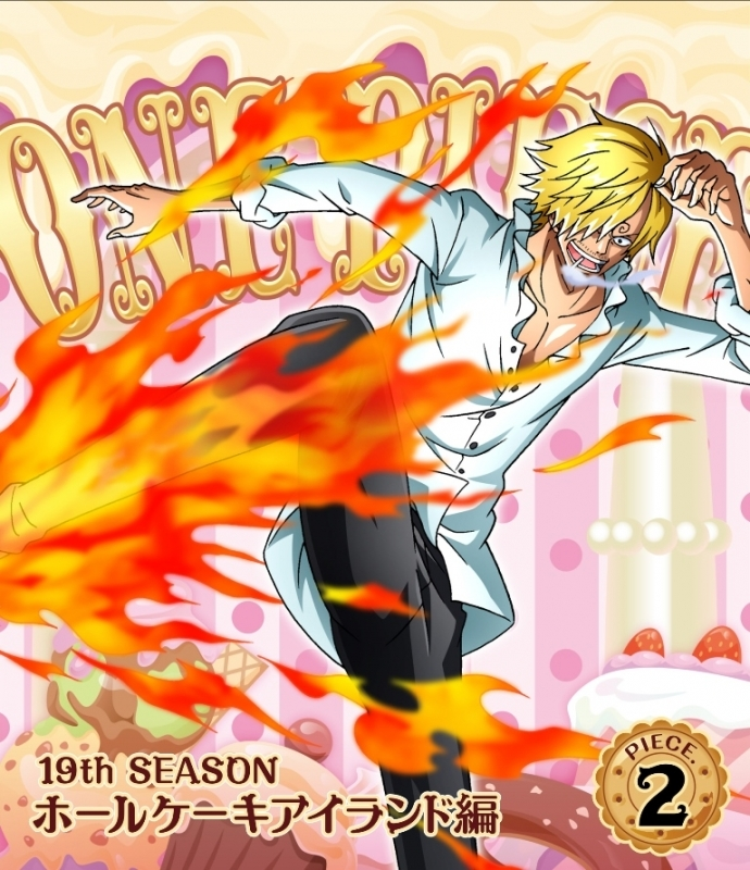 【Blu-ray】TV ONE PIECE ワンピース 19THシーズン ホールケーキアイランド編 piece.2