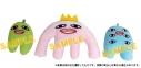 【グッズ-バッチ】江口拓也の俺たちだってやっぱり癒されたい! ぬいぐるみバッジ(癒し大王&ペンくん&メロ)の画像