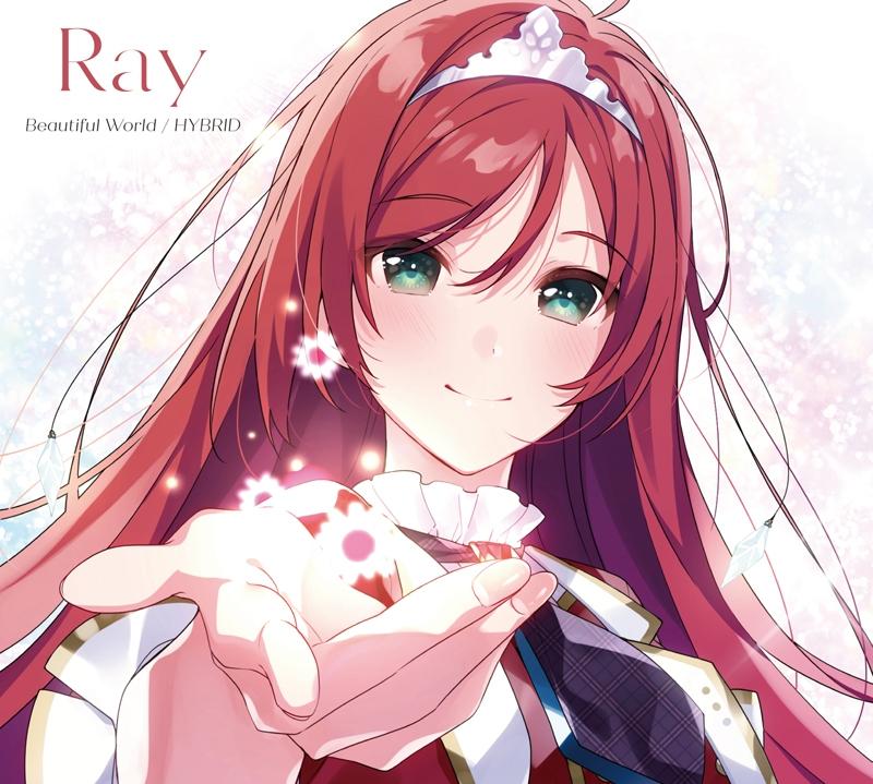 【キャラクターソング】TV Lapis Re:LiGHTs Ray Beautiful World/HYBRID 初回限定盤