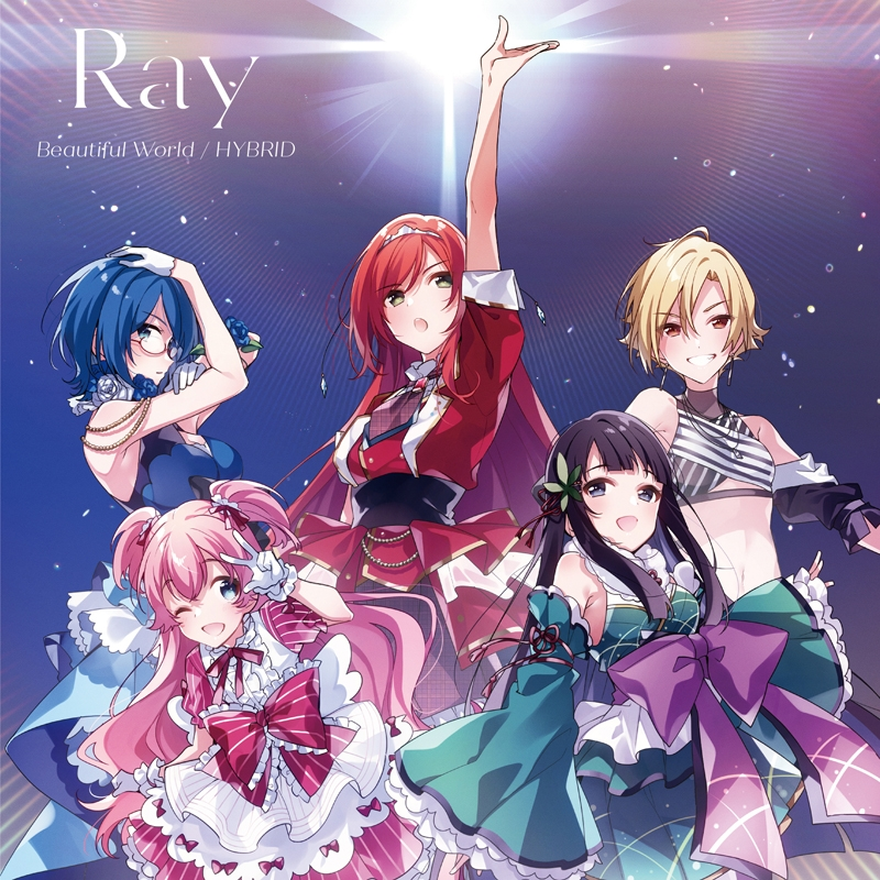 【キャラクターソング】TV Lapis Re:LiGHTs Ray Beautiful World/HYBRID 通常盤