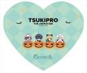 【グッズ-ミラー】TSUKIPRO THE ANIMATION のってぃーシリーズ ハート型コンパクトミラー Growth【再販】の画像