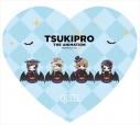 【グッズ-ミラー】TSUKIPRO THE ANIMATION のってぃーシリーズ ハート型コンパクトミラー QUELL【再販】の画像