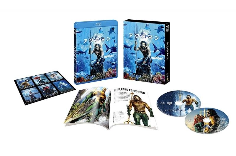 【Blu-ray】アクアマン ブルーレイ&DVDセット 特典付