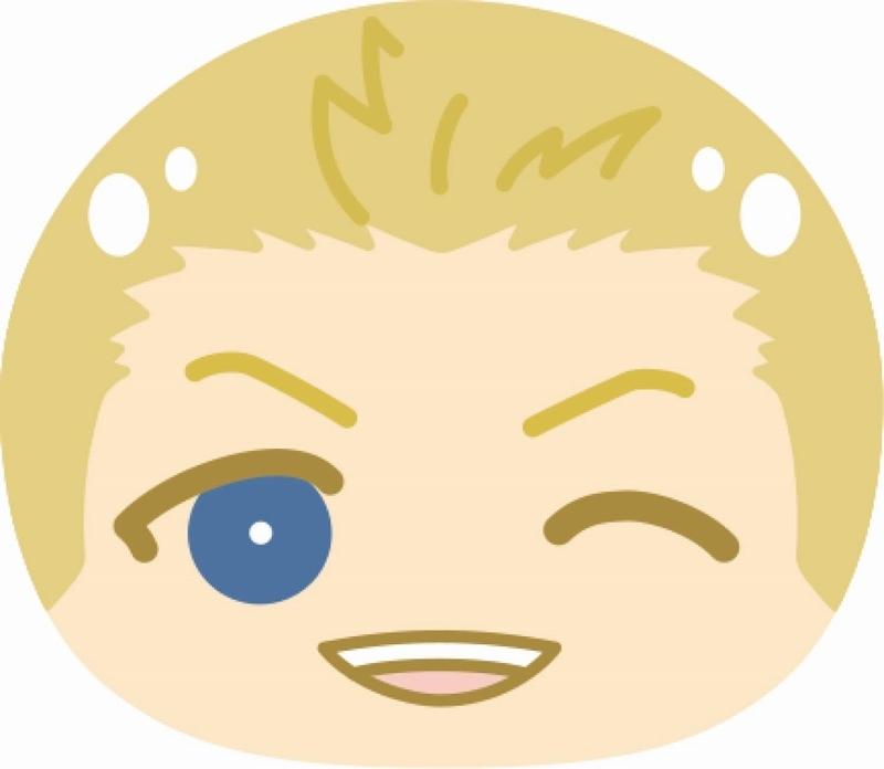 【グッズ-ポーチ】アイドルマスターSideM おまんじゅうふかふかポーチ2 2.伊集院北斗