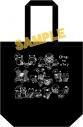 【グッズ-バッグ】音戯の譜 -CHRONICLE- トートバッグ(ブラック)の画像
