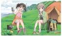【グッズ-マット】ヤマノススメ サードシーズン ラバーマット(あおい&ひなた)の画像
